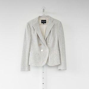 Giorgio Armani Tweed Blazer